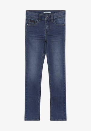 NKMTHEO PANT - Jean boyfriend - medium blue denim