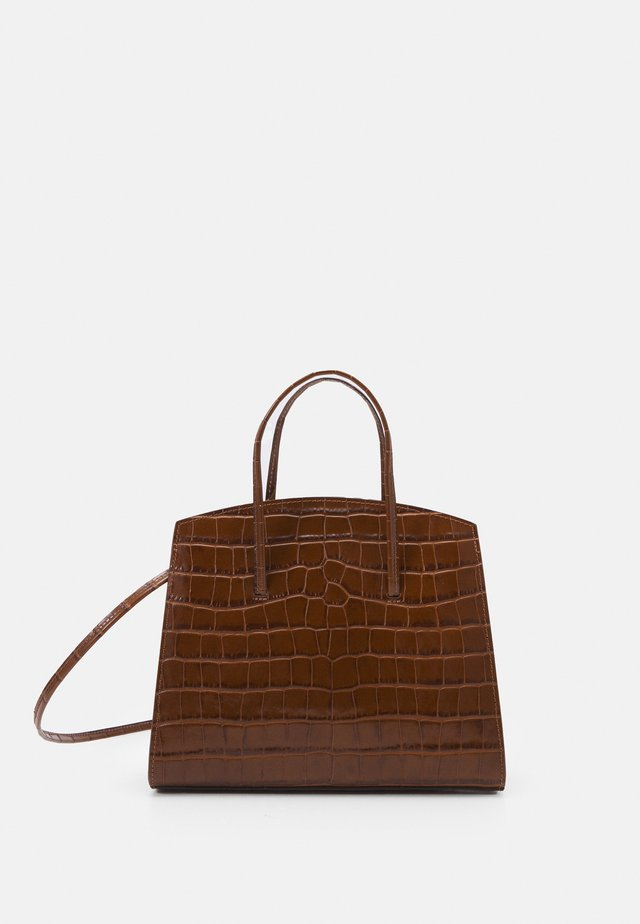 MINIMAL MINI TOTE - Shopping bag - brown