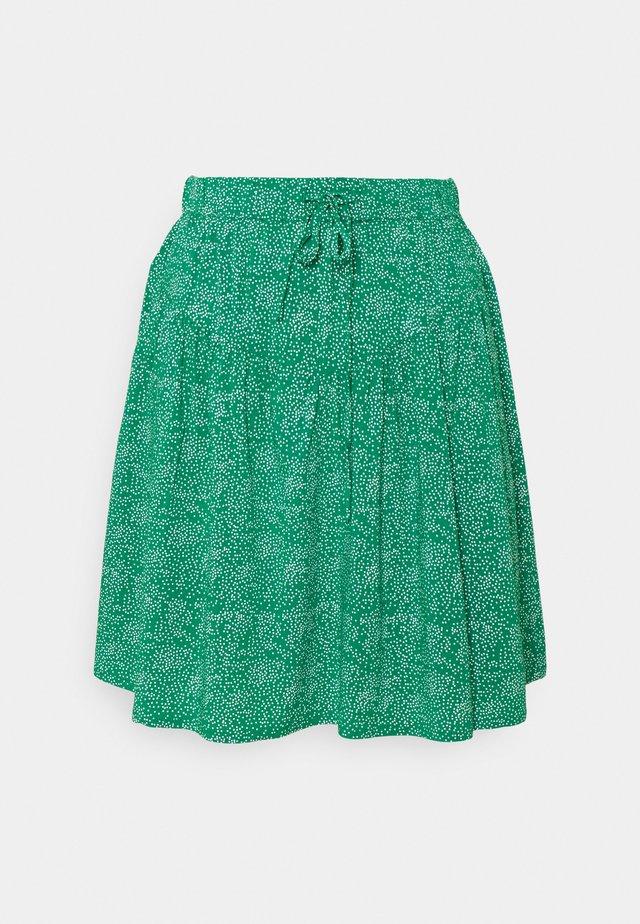 DOTA SKIRT - Spódnica mini - green