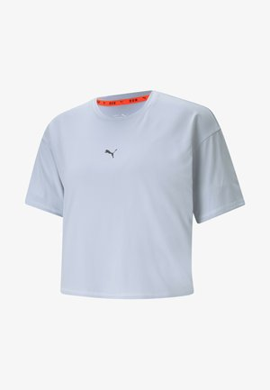 RUN LAUNCH COOLADAPT TEE - Print T-shirt - grey dawn