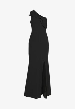 ONE SHOULDER BOW MAXI DRESS - Gallakjole - black
