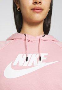 Nike Sportswear - HOODIE - Sweat à capuche - pink glaze/white - 6
