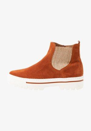 Kotníková obuv - rost