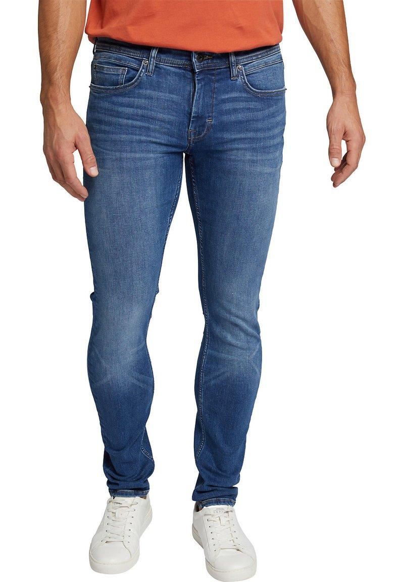 Esprit - Jeans slim fit - blue medium washed