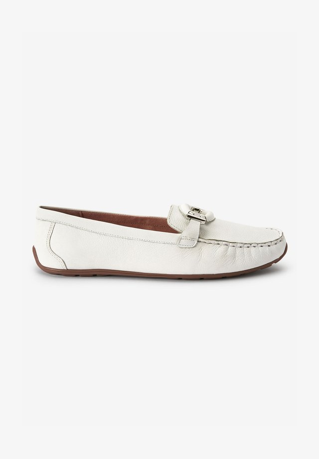HARDWARE DRIVER  - Mocassins - white