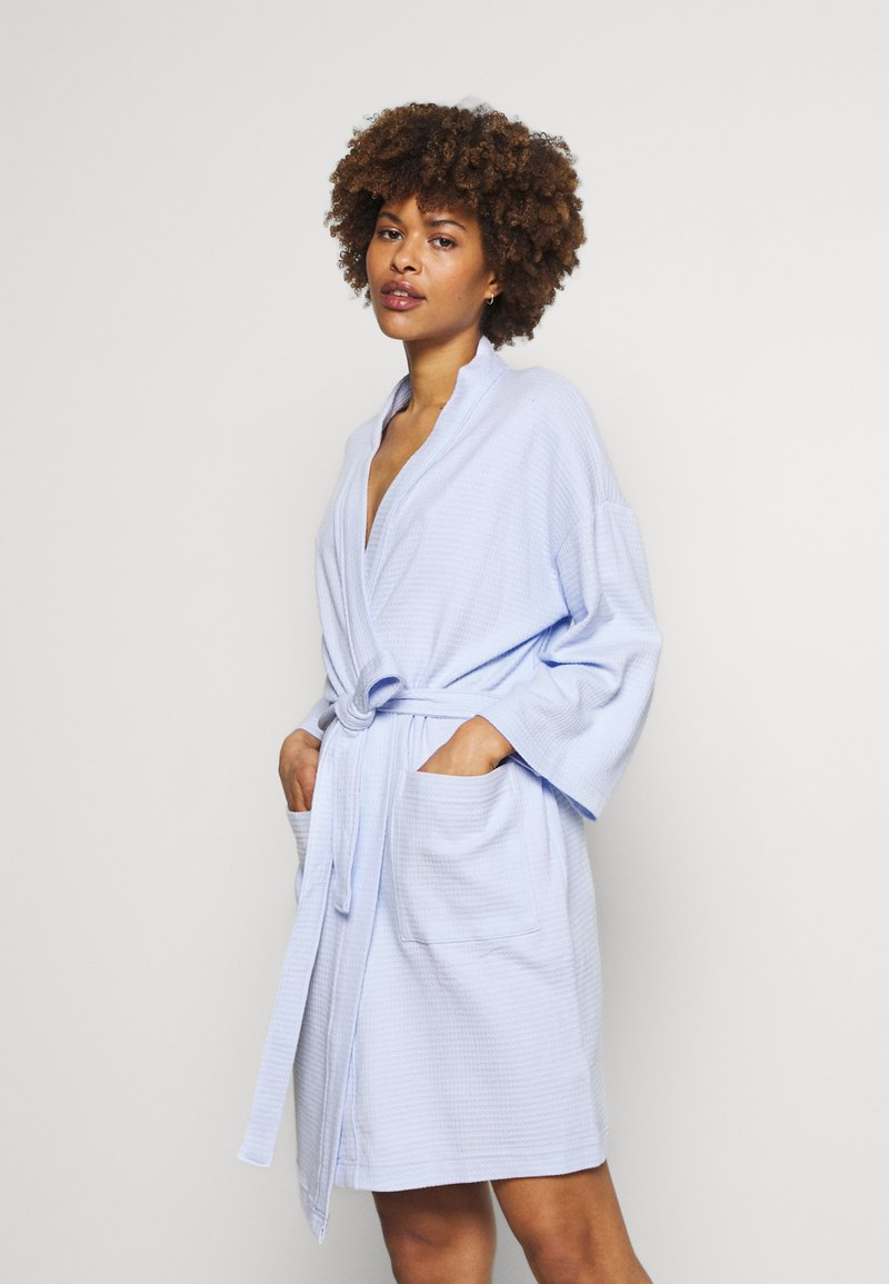 Marks & Spencer London - DRESSING GOWN COVER UPS - Dressing gown - light blue