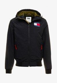 Tommy Jeans - JACKET - Light jacket - black - 4