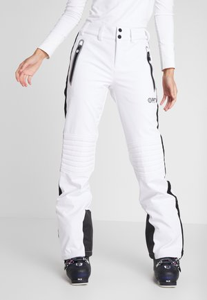 SKI CARVE PANT - Snow pants - arctic white