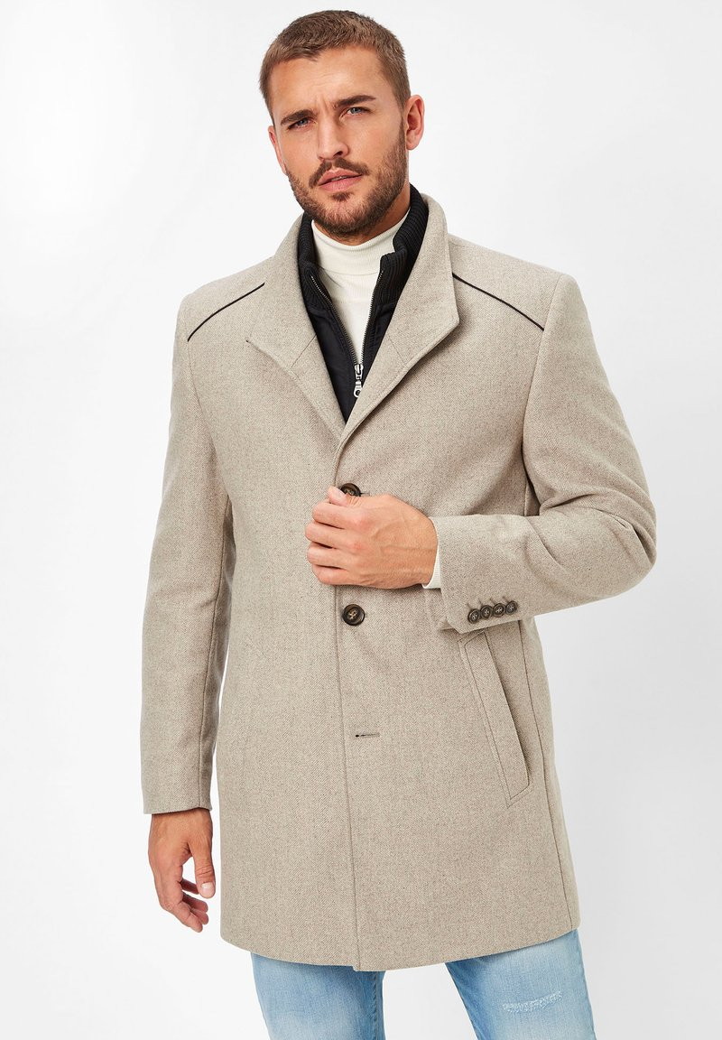 S4 Jackets - Classic coat - stone