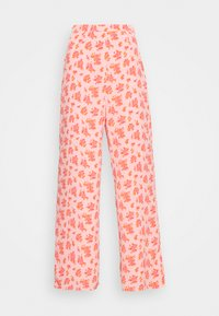 Fashion Union - STRIDE TROUSER - Trousers - pink posey - 5