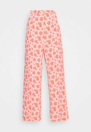 STRIDE TROUSER - Trousers - pink posey