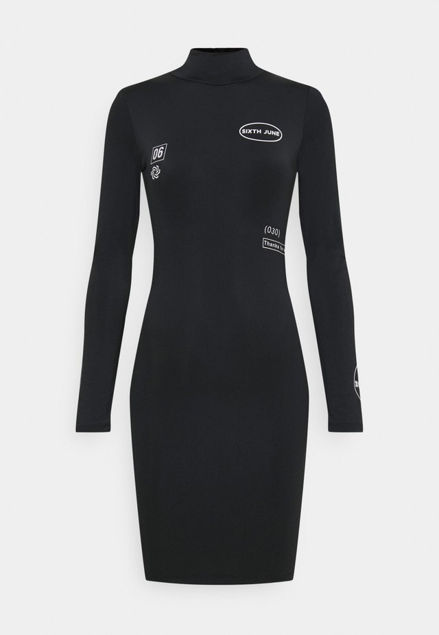 STREETSTYLE DRESS - Jerseyjurk - black