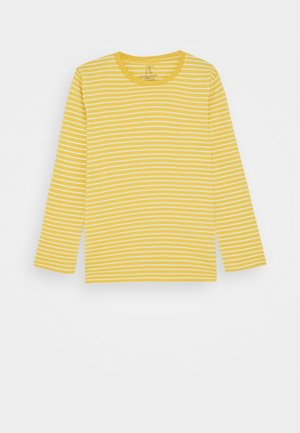 MINI BASIC STRIPE - Top s dlouhým rukávem - yellow