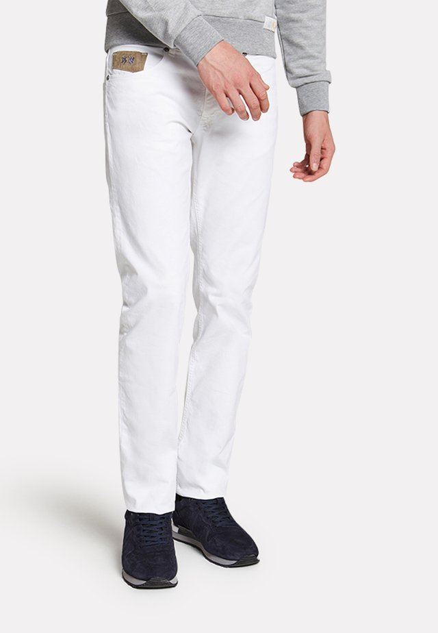 RAMSEY - Straight leg jeans - optic white