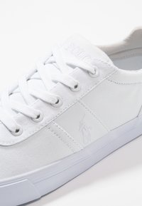 Polo Ralph Lauren - HANFORD - Matalavartiset tennarit - pure white - 5
