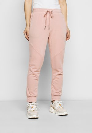 NMMISA PANTS PETITE - Tracksuit bottoms - misty rose