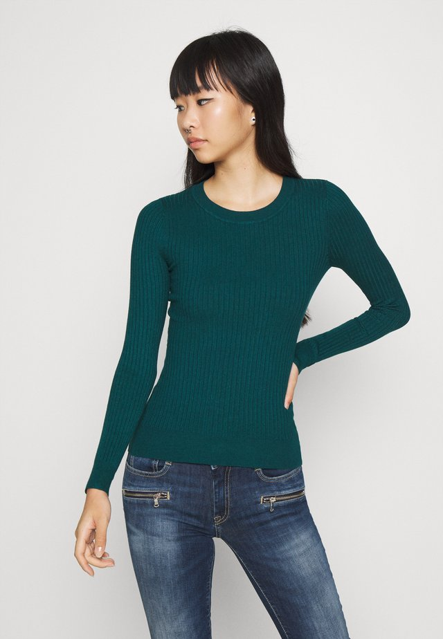 Pullover - deep teal
