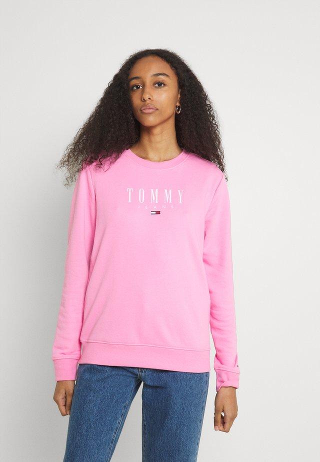 REGULAR ESSENTIAL LOGO - Bluza - pink daisy