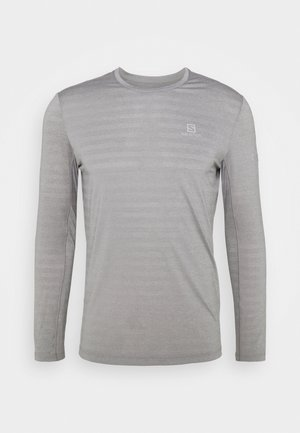LONG SLEEVE - Sports shirt - alloy/heather