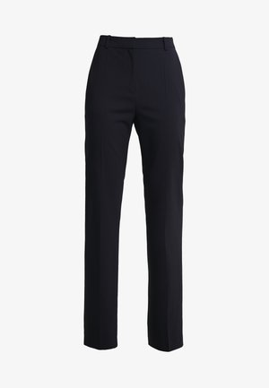 THE REGULAR TROUSERS - Kangashousut - navy