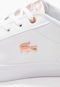 Lacoste - LEROND  - Trainers - white/light pink - 2