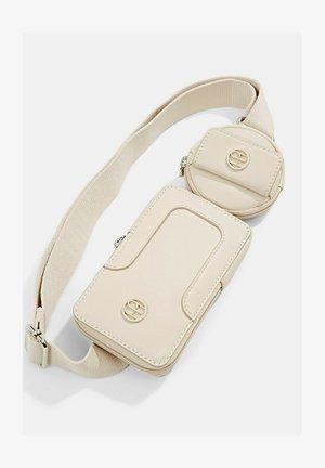 HALLIET SET - Bum bag - light beige