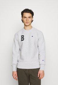 Champion Reverse Weave - CREWNECK BERLIN - Sweatshirt - mottled light grey - 0