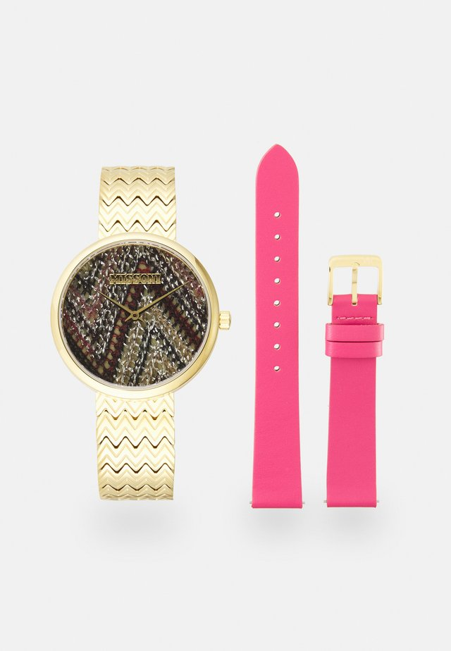 SET - Watch - gold-coloured/pink