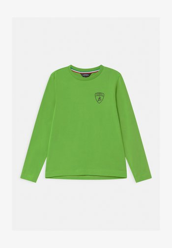 SOLID COLOR - Long sleeved top - green mantis