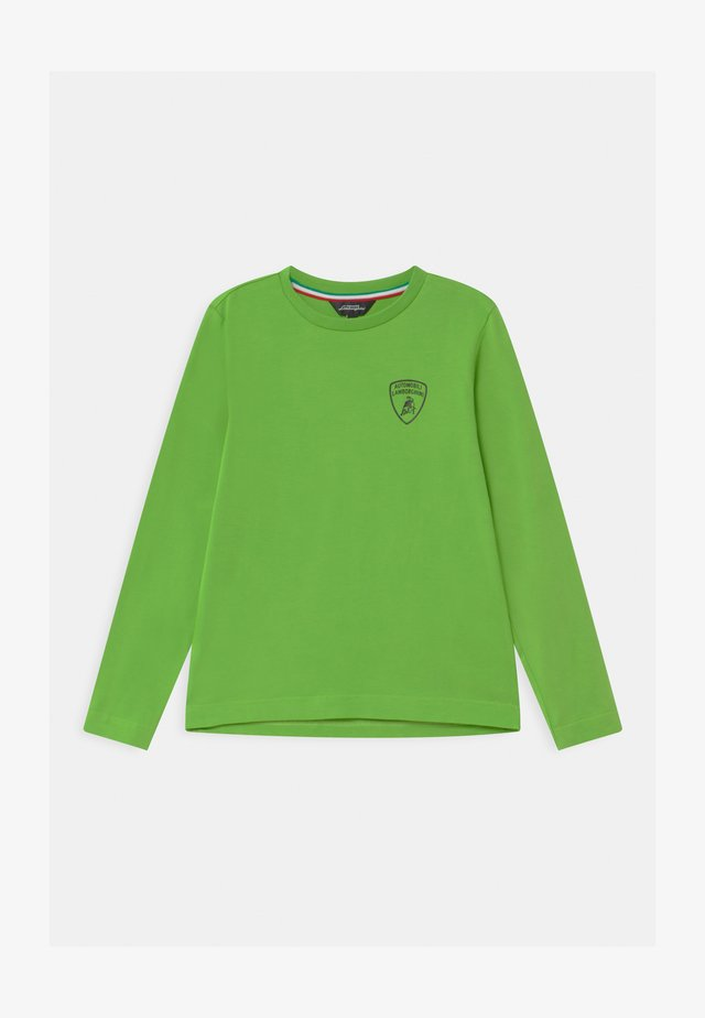 SOLID COLOR - Longsleeve - green mantis