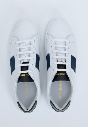 Trainers - white-blue