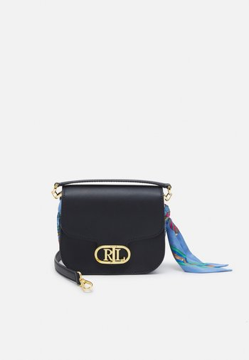 SMOOTH SCARF LOGO - Handbag - dark blue