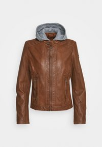 Gipsy - TALIDA - Leather jacket - cognac - 6