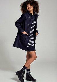 Armor lux - CONCARNEAU - DUFFLE-COAT - MANTEAU CLASSIQUE - Classic coat - rich navy - 1