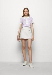 maje - JANESSA - Mini skirt - ecru - 1