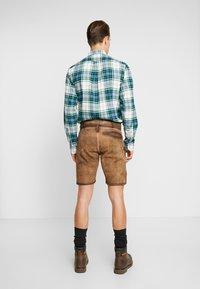 Krüger Dirndl - Pantaloni di pelle - brown - 2