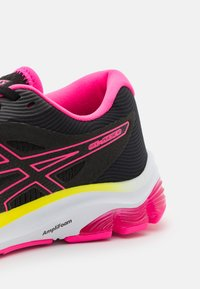 ASICS - GEL-PULSE  - Neutral running shoes - black/hot pink - 5