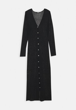 SHEER MAXI CARDIGAN - Strikjakke /Cardigans - black