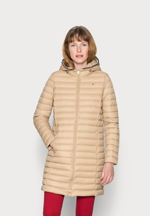 DOWN COAT - Down coat - beige