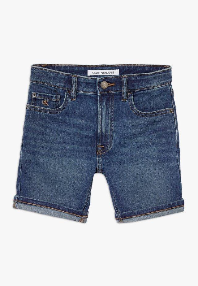 TAPERED SHORT  - Denim shorts - denim