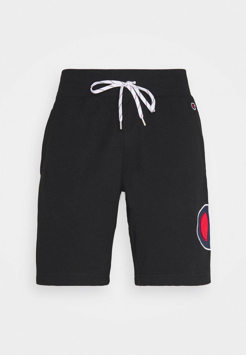 Champion Rochester - BERMUDA - Pantalon de survêtement - black