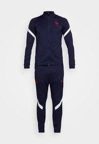 FRANKREICH FFF DRY SUIT SET - National team wear - blackened blue/university red