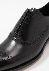 Barker - NEWCHURCH - Smart lace-ups - black - 6