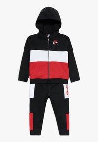Nike Sportswear - AIR SET - Survêtement - black/university red - 0