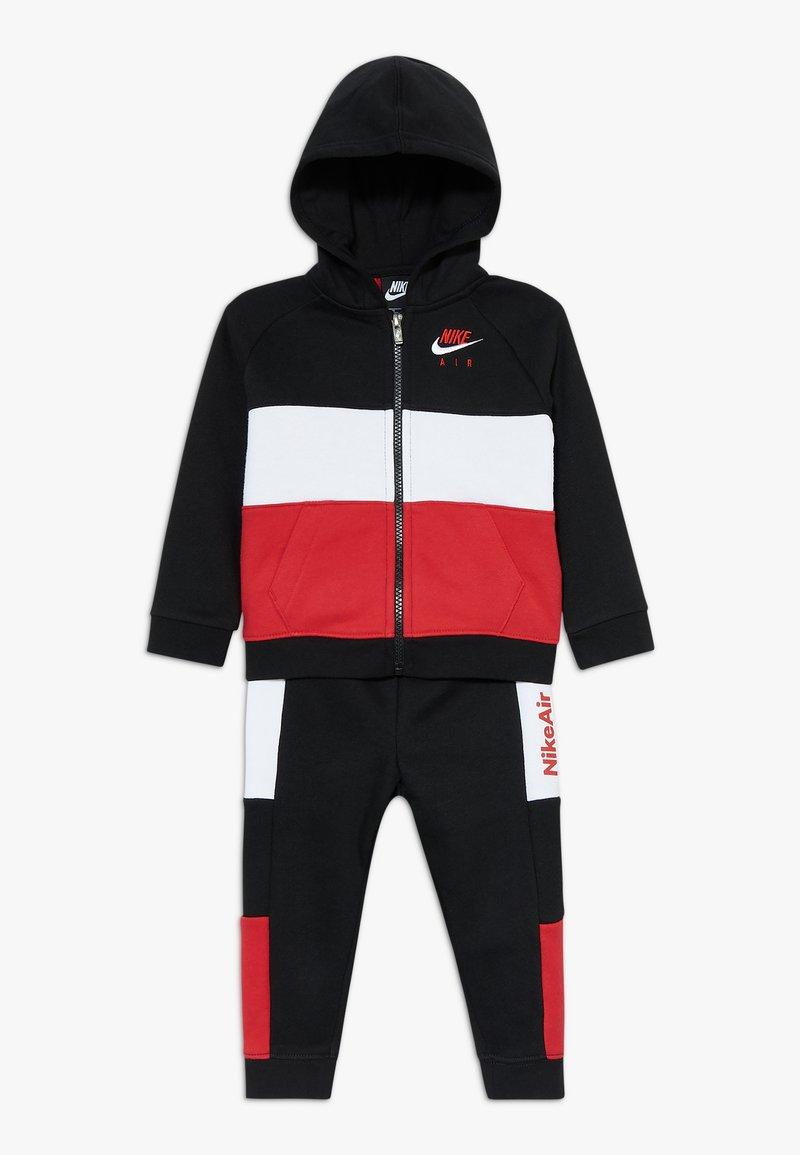 Nike Sportswear - AIR SET - Survêtement - black/university red