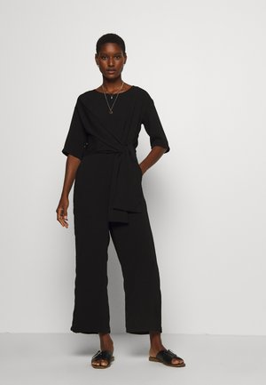 ALONA CROPPED - Jumpsuit - black deep