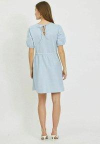 Vila - Day dress - cashmere blue - 2