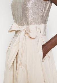 Lauren Ralph Lauren - MEMORY TAFFETA DRESS COMBO - Vestido de cóctel - cashew/champagne - 5