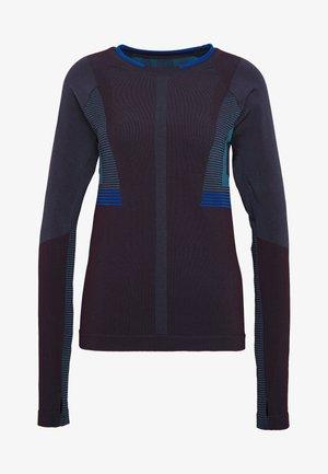LUNAR - Sports shirt - blackberry