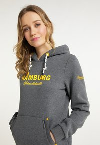 Schmuddelwedda - HAMBURG - Hoodie - grau melange - 3